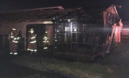 Fire Departments Contain Carencro Barn Fire