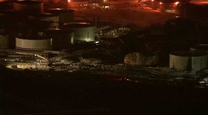 Texas Chemical Fire is Finally Out