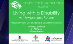 """Living with a Disability"", A Community Awareness Forum"