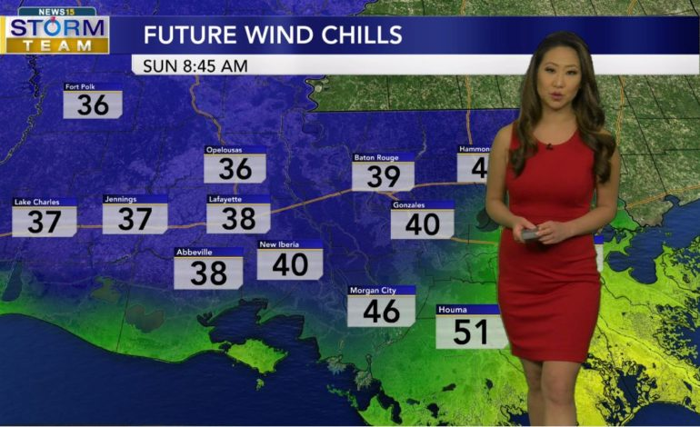 Chilly & Windy End To The Weekend
