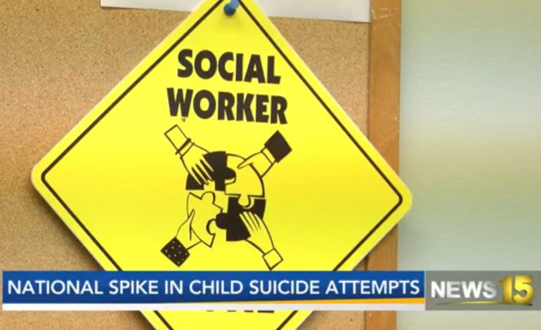 National study shows spike in children going to ER for suicidal thoughts, attempts