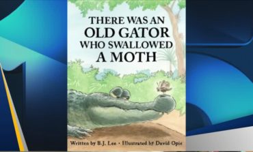 Kid Lit Pick of The Week: THERE WAS AN OLD GATOR WHO SWALLOWED A MOTH