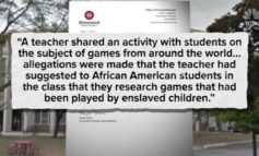 Teacher Reportedly Assigns Slave Games Research