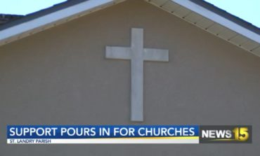 Support Pours in for St. Landry Parish Churches