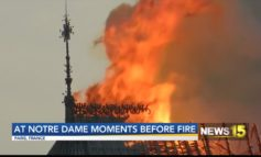 Local Man Inside Notre Dame Hours Before Fire