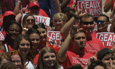 UL Joins Rally At University Of Louisiana System Day