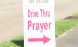 Local Church Offers Drive Thru Service For Good Friday