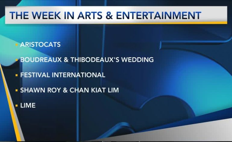 This Week In Arts & Entertainment
