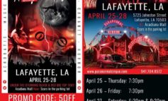 Paranormal Cirque is Coming to Lafayette