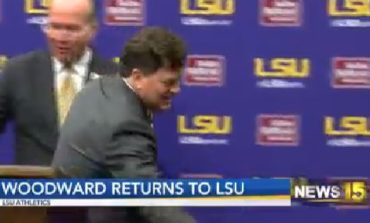 Scott Woodward Introduced as New LSU Athletic Director