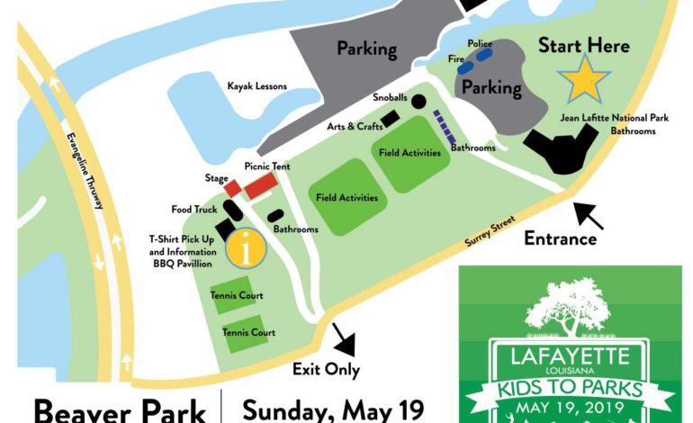 Lafayette's First National Kids to Parks Day Event