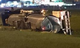 Update: Overturned Tank Has Been Removed From Scene of Accident