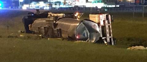 UPDATE: I-10 West reopens after 18-wheeler chemical spill