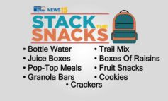 News15 accepting donations for Stack the Snacks fundraiser