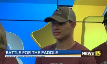 Battle For The Paddle, Raising Funds For Delcambre Volunteer Fire Department