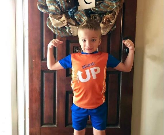 Local 7-Year-Old with Spina Bifida Named Co-Captain of National Team
