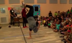 Kids at Boys and Girls get anti-bullying message from Kabuki Dancers