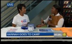 Hannah goes to Camp SMILE