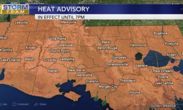 First Heat Advisory Of The Season