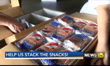 Help News 15, United Way of Acadiana Stack the Snacks for kids in need