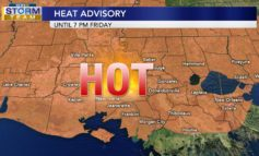 Heat Advisory In Effect Until 7 PM - Your Latest StormTeam15 Forecast