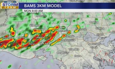 Storms Return Monday Morning