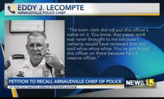 Teen Authors Petition to Recall Arnaudville Police Chief
