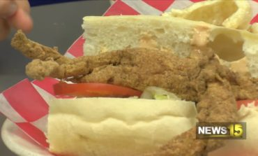 Instagram Worthy Soft-shell Crab Po-boy At The Cajun Table