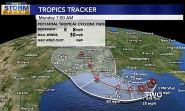 Latest Advisory On Tropical System In Northern Gulf Of Mexico