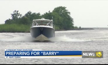 "Fisherman prepare for ""Barry"""