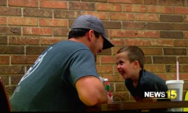 A Ton of High Fives: Local Boy In Broussard Serves Up A Friendly Breakfast