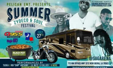 Summer Zydeco & Soul Festival Set to Take Place on July 27 at SugArena