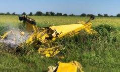 JDPSO: Pilot Walks Away from Crop Duster Crash with Minor Injuries