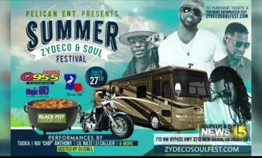 1st Summer Zydeco &Soul Fest in New Iberia
