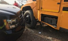 Minor Crash in Acadia Parish Involving a School Bus