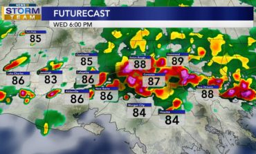 Thunderstorms Roll In Later Today
