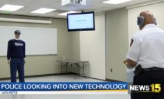LPD tests out new device for arrests