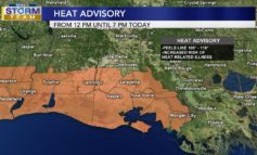Another Heat Advisory, Rain Chances Increase