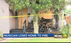 Musician Major Handy loses home in house fire