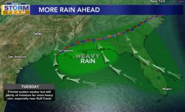 More Afternoon Showers and Thunderstorms