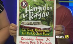 Hangin' on The Bayou Car Show