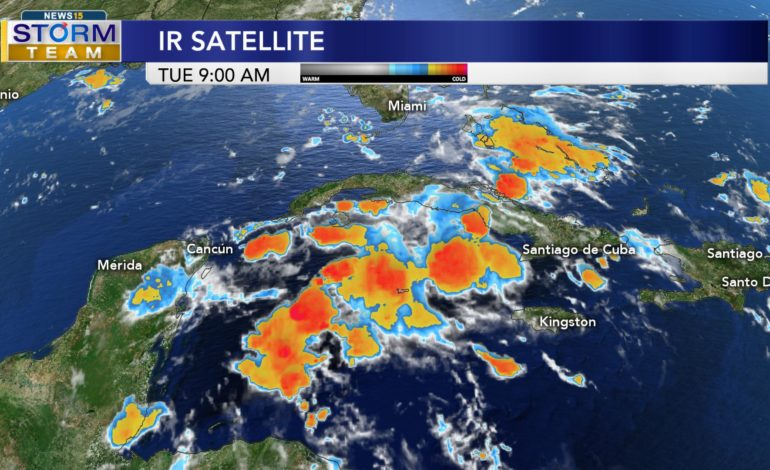 Tracking a Tropical Wave