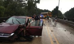 Suspected Impaired Driver Hits School Bus Head-on