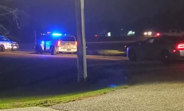 Law Enforcement Vehicle Overturns On Airline Hwy.