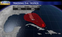 Tracking the Tropics: System has High Chance of Development