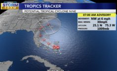 Some Weekend Rain Chances, Tropics Remain Active