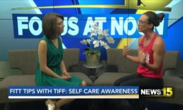 Fit Tips With Tiff: Selfcare