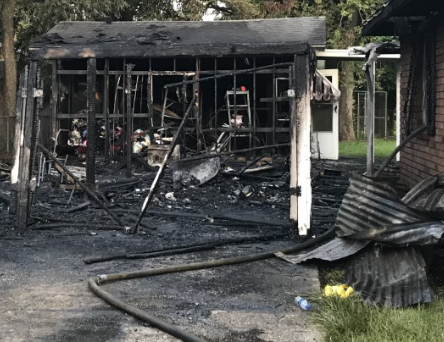 Two Homes Damaged by Early Morning Fire