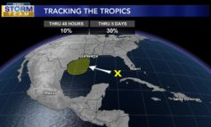 Area of Interest in Gulf Could Bring Higher Rain Chances