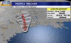 Tropical Storm Imelda forms in the Gulf